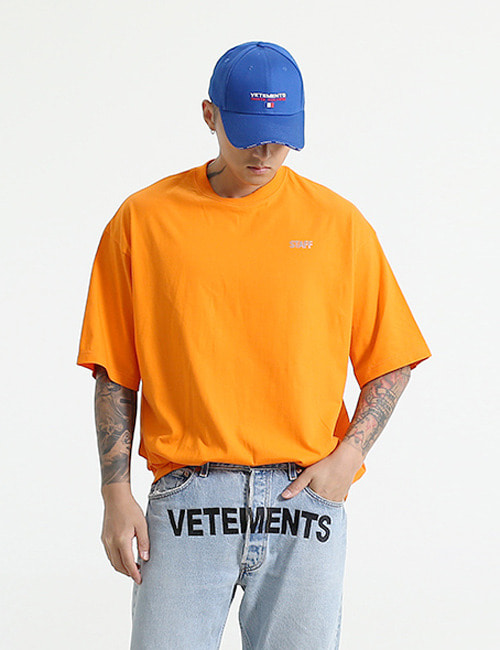 V.REFLECTIVE ROUND T_SHIRTS_2COLOR
