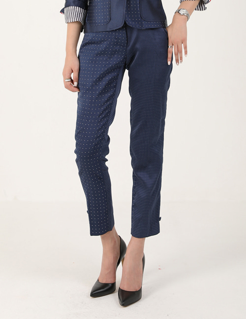 T. ASYMMETRY DOT PANTS_W